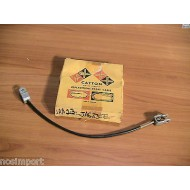 Jaguar 3.8 MKII  Brake Cable Left Rear    with Disc Brakes 1960-1964   NORS