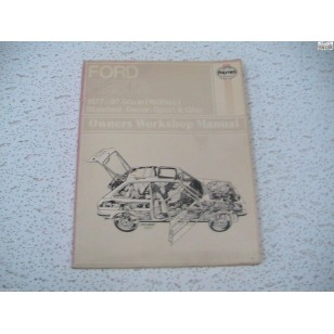 Ford Fiesta Haynes Manual    1977   early