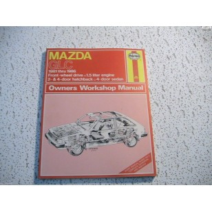 Mazda  GLC  Haynes Repair Manual  1981-1986