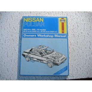Nissan  Pulsar  Haynes  Repair Manual  1983-1986