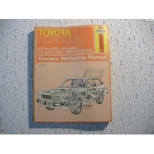 Toyota Corolla  Haynes Repair Manual  1200 1600  1975-1978