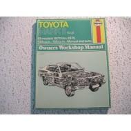 Toyota Corona MKII  6-Cylinder 2M 4M   Haynes Repair Manual    1972-1976