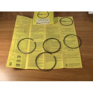 VW Volkswagen Aud1 Rabbit Fox Dasher 1.6 Ring Set Oversize .5mm Goetze 1978-1984