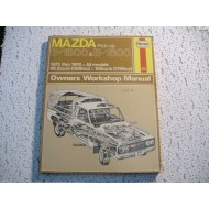 Mazda Pickup B1600 B1800  Haynes Repair Book  1972-1978