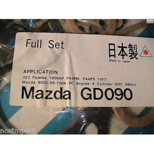 Mazda 323 NON-USA  985cc   Full Engine Gasket Set  1977-1979