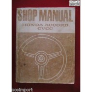 Honda Accord FACTORY Shop Manual 1976-1977 Used