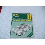 Ford Probe Haynes Repair Manual  1989-1990