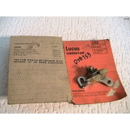Ford Cortina Capri 1600 Ignition Points Autolite Ignition   Lucas Pack 1967-1973