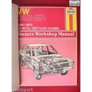 VW Volkswagen Repair Manual Dasher 1974-1975  Haynes  Used