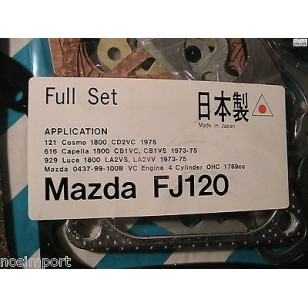 Mazda 626 (US) 616 929 (non-US) Full Engine Gasket Set 1970cc MA  1977-1979