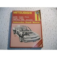 Mitsubishi Cordia Tredia Galant Precis Mirage  Haynes Repair Manual  1983-1990