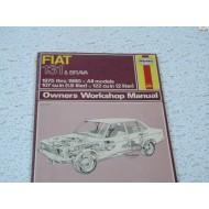 Fiat 131 Brava    Haynes Repair Manual   1975 - 1980