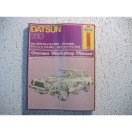 Datsun  310  Haynes Repair Manual   1978-1981