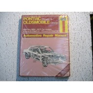 Pontiac Phoenix  Oldmobile Omega X-Body Haynes Repair Manual 1980-1984