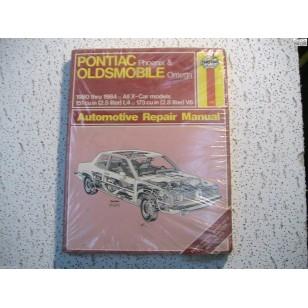 Pontiac Phoenix  Oldmobile Omega X-Body Haynes Repair Manual 1980-1984