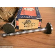 Mercedes Benz 170 180 Exhaust Valve  up to 1956    sold each