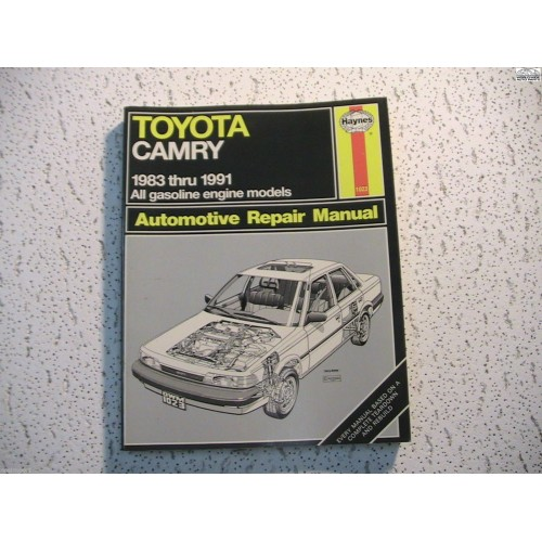 toyota camry haynes repair manual 1983 1991. Black Bedroom Furniture Sets. Home Design Ideas