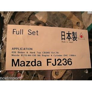 Mazda 626 non-US import 1600cc Full Engine  Overhaul  Gasket Set  NA 1978-1983