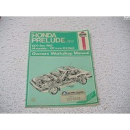 Honda Prelude  Haynes Repair Manual   1979 - 1982
