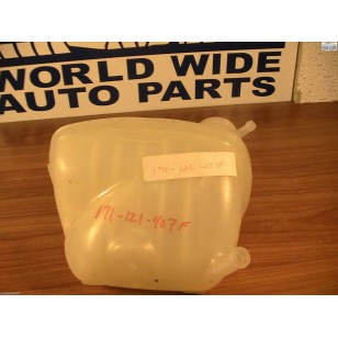 Volkswagen VW Audi Coolant Recovery Tank with Sensor Hole 171-121-407F 1982-1998