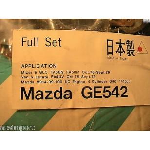 Mazda GLC Mizer USA Van 1415cc UC Full Engine Gasket Set   1979
