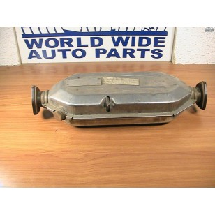Fiat 124 Exhaust Catalytic Convertor 3-bolt Flange ORIGINAL NOS 4410278  4432465