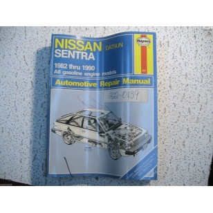 Nissan   Sentra   Haynes Repair Manual   1982-1990