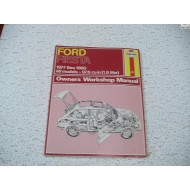 Ford Fiesta Haynes Repair Manual 1977-1980 later versrion
