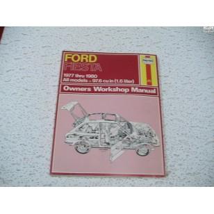 Ford Fiesta Haynes Repair Manual 1977-1980 later versrion