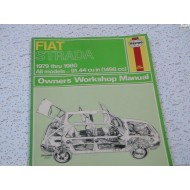 Fiat Strada Haynes Repair Manual  1979-1980