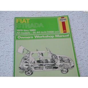 Fiat Strada Haynes Repair Manual  1979-1980