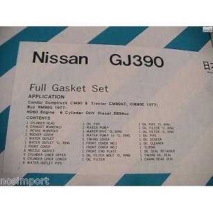 Datsun Nissan DIESEL 6-cylinder Full Engine Gasket Set  ED6 Truck  1976-1979