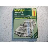Nissan  Stanza  Haynes Repair Maunual   1982-1990