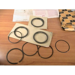 MG B  Piston Ring Set Standard Size Original AE Hepolite 4-ring Piston 1965-1970